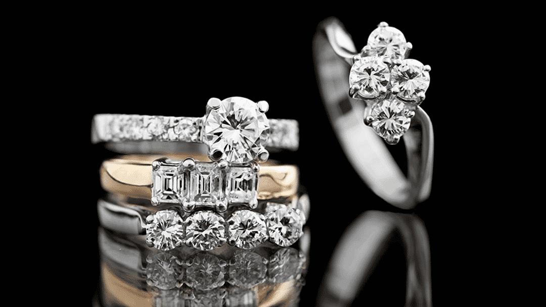 Diamond jewelry-L
